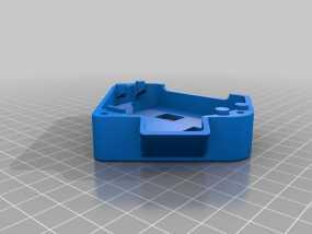 单框架 3D模型