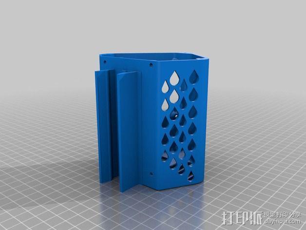 单框架 3D模型  图2