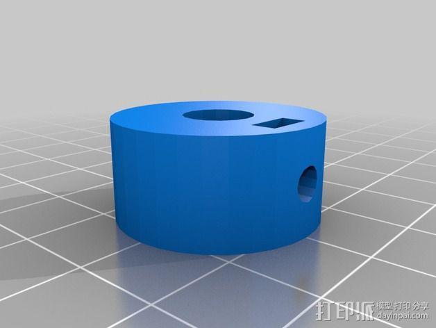 轴环 3D模型  图2