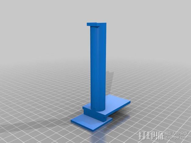 线轴架 replicator 2x 3D模型  图2