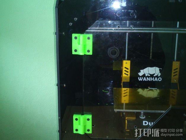 打印机前窗铰链 3D模型  图5