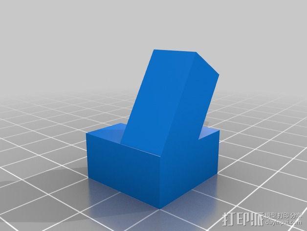 灯丝线轴架 3D模型  图5