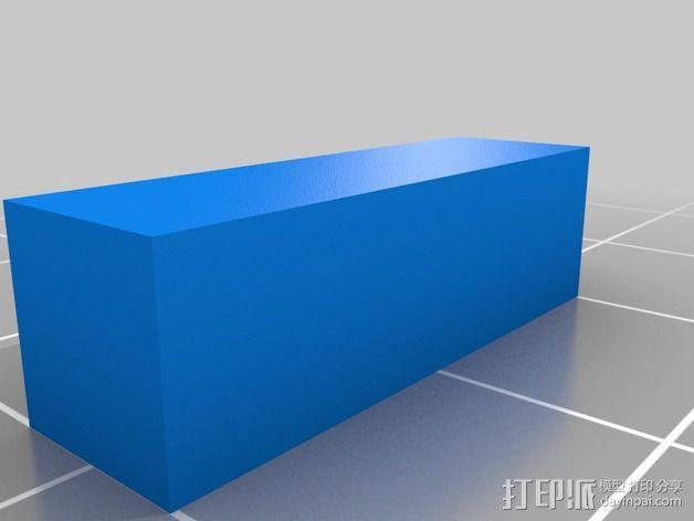 灯丝线轴架 3D模型  图7