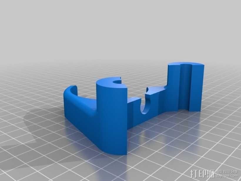 比较器支架 3D模型  图5