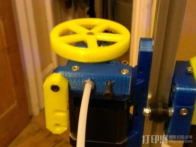 Nema17适配器 3D模型  图2