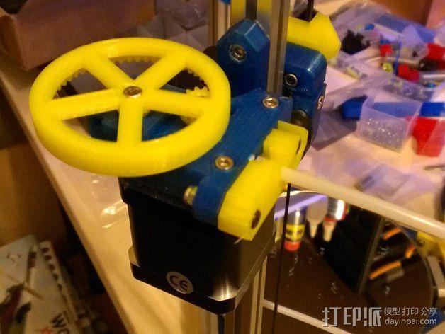 Nema17适配器 3D模型  图5