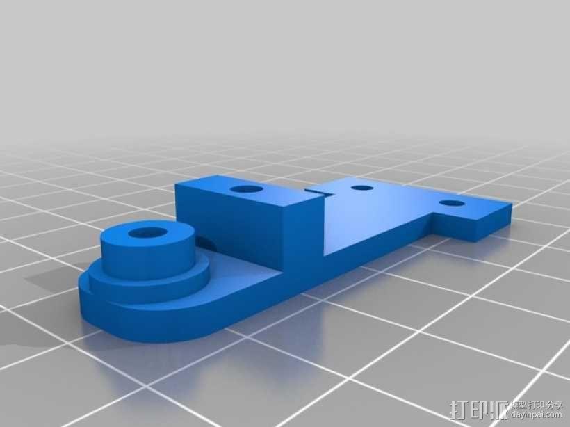 Ultimaker2挤出器 3D模型  图2