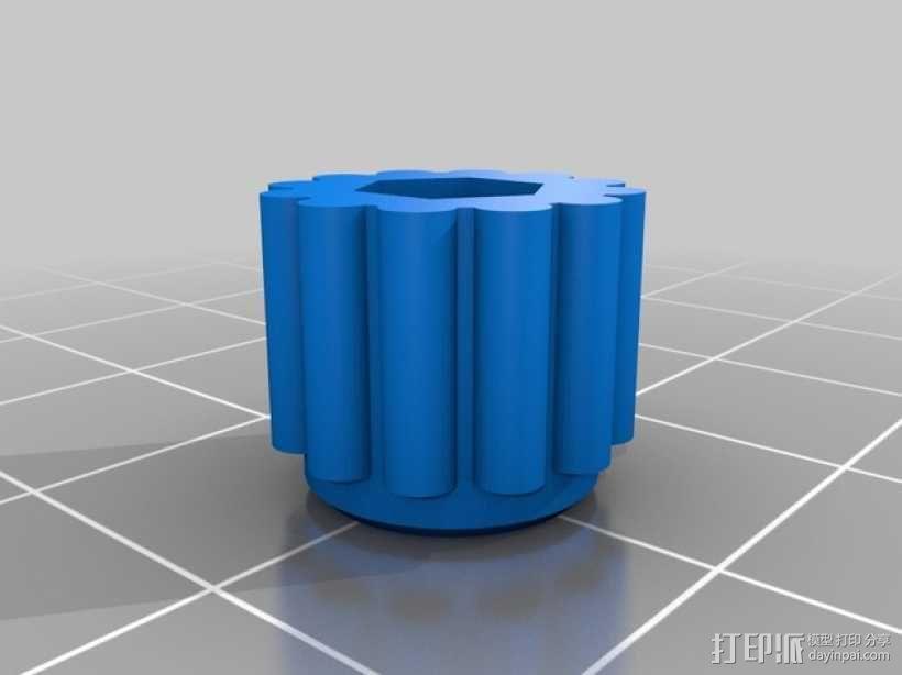 Ultimaker2挤出器 3D模型  图4