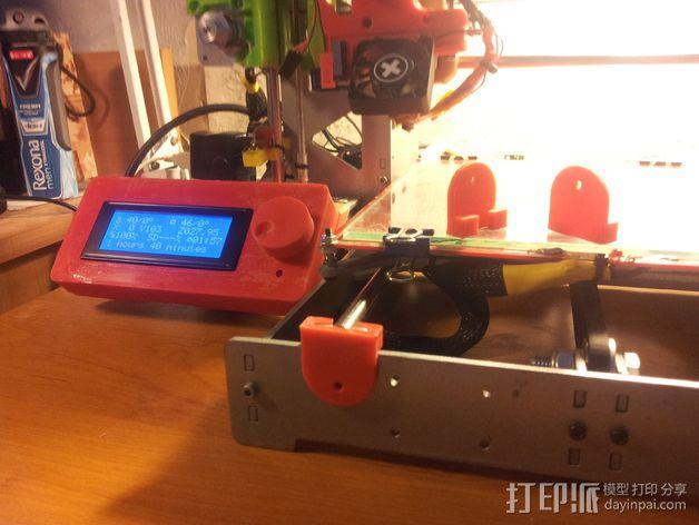 滑竿适配器 3D模型  图2