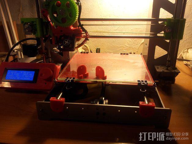 滑竿适配器 3D模型  图3