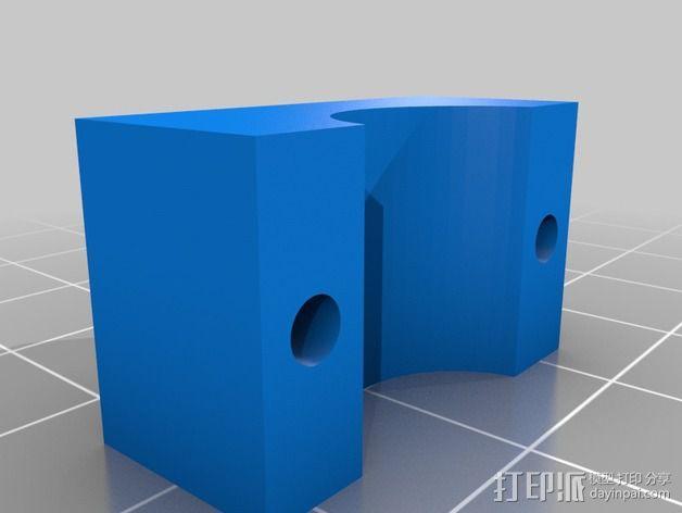 RUMBA OrdBot壳子 3D模型  图2