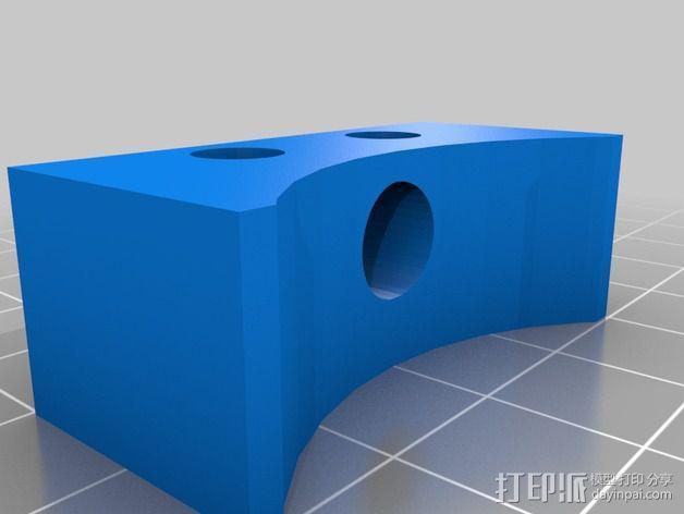 计分表支架 3D模型  图2