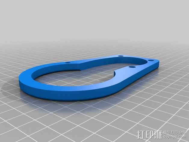 挤出器照明 3D模型  图2