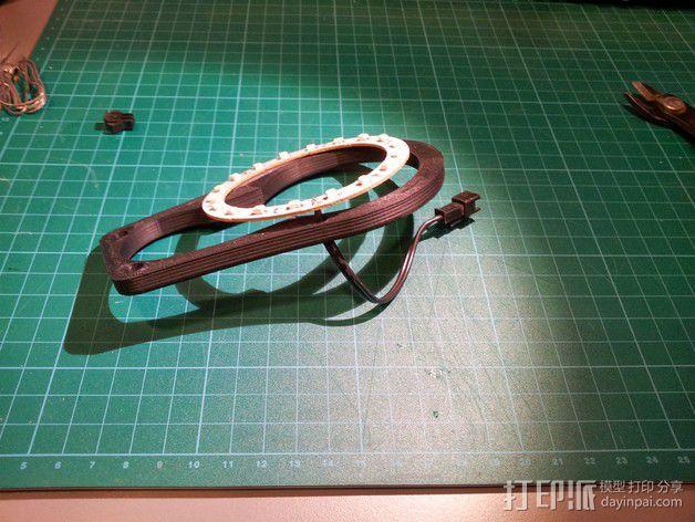 挤出器照明 3D模型  图3