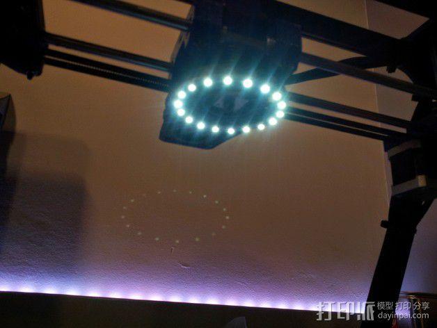 挤出器照明 3D模型  图11