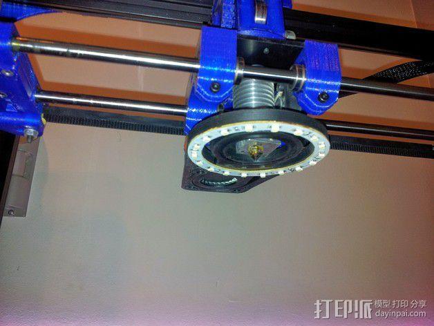 挤出器照明 3D模型  图8