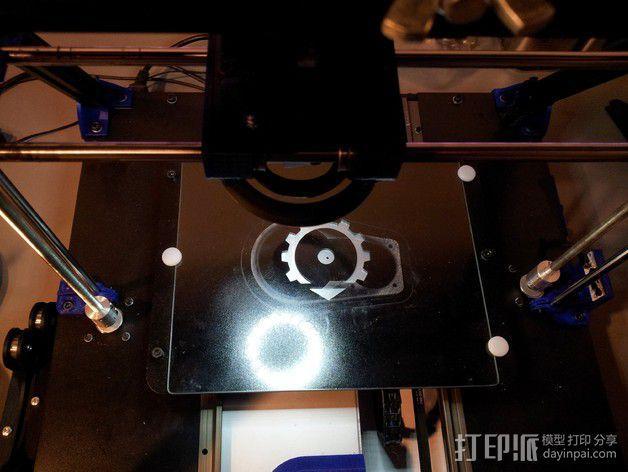 挤出器照明 3D模型  图9