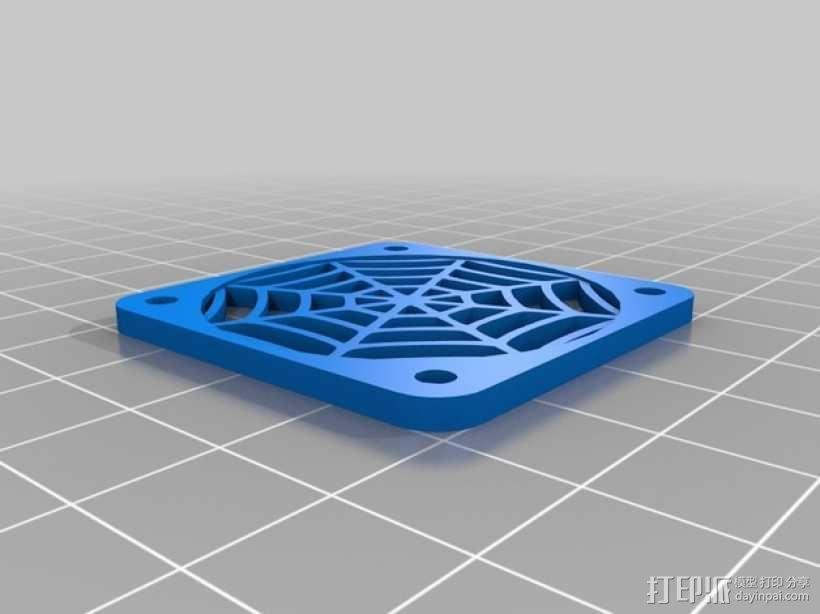 蜘蛛图案摆件 3D模型  图1