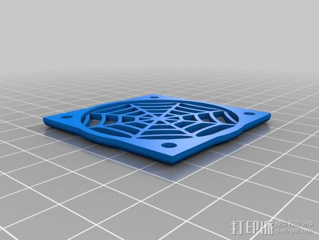 蜘蛛网摆件 3D模型  图1