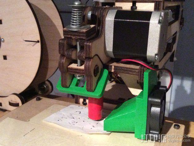 灯丝挤出器 3D模型  图1