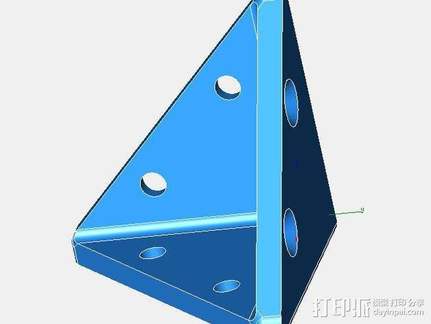防护角 3D模型  图1