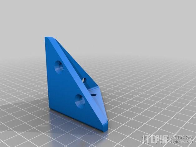 防护角 3D模型  图2