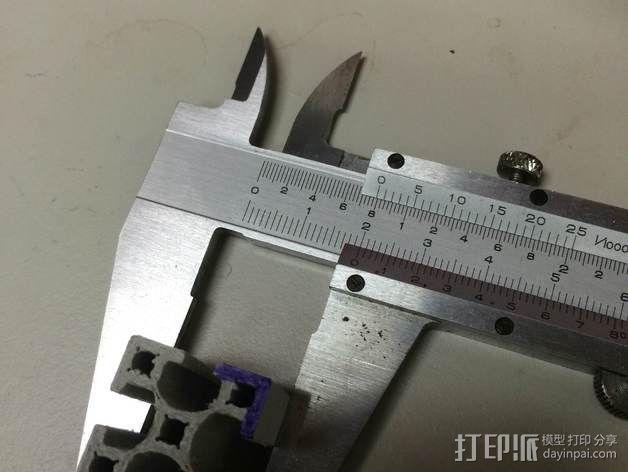铝梁 3D模型  图4