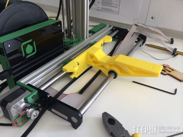 加热板支架 3D模型  图2