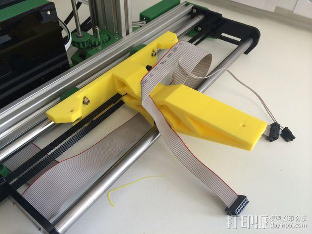 加热板支架 3D模型  图3