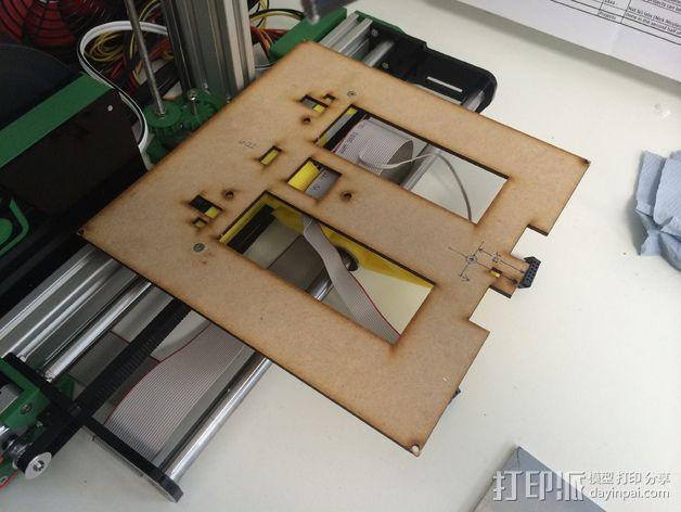 加热板支架 3D模型  图7