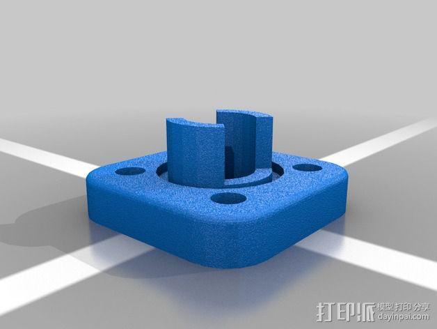 弹簧装置 3D模型  图3