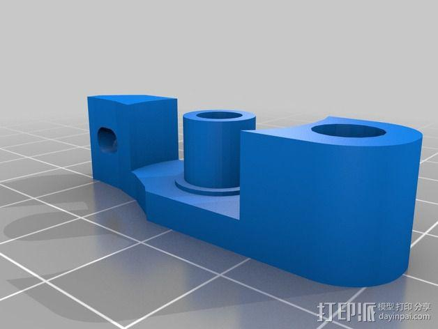 挤出器 3D模型  图4