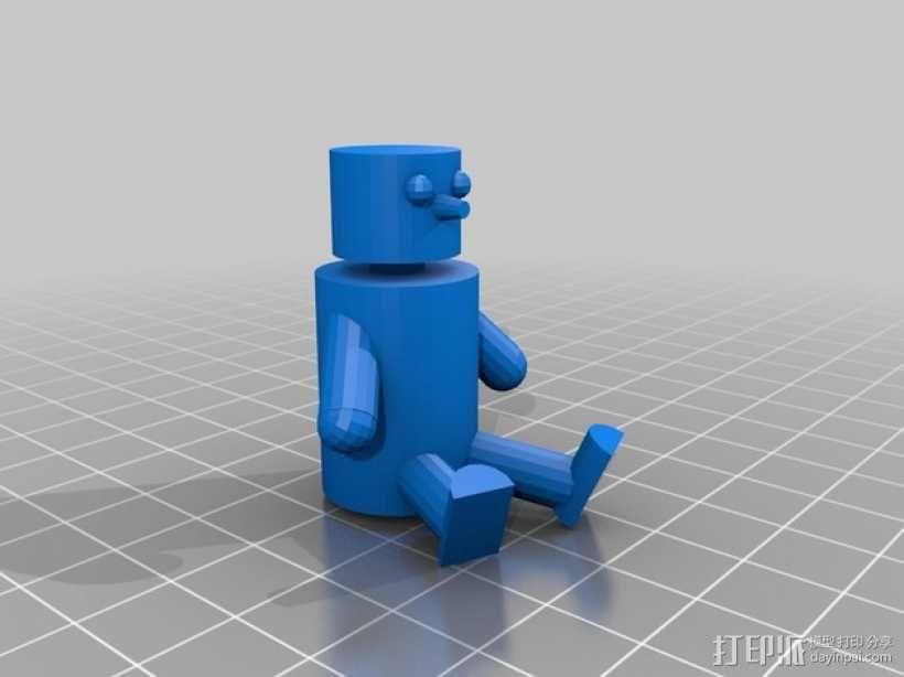 娃娃摆件 3D模型  图1