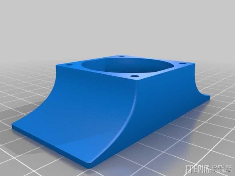 风扇 3D模型  图1