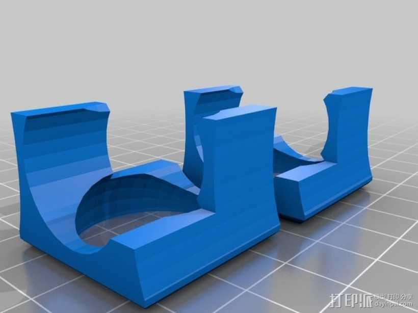 风管 E3D 3D模型  图2