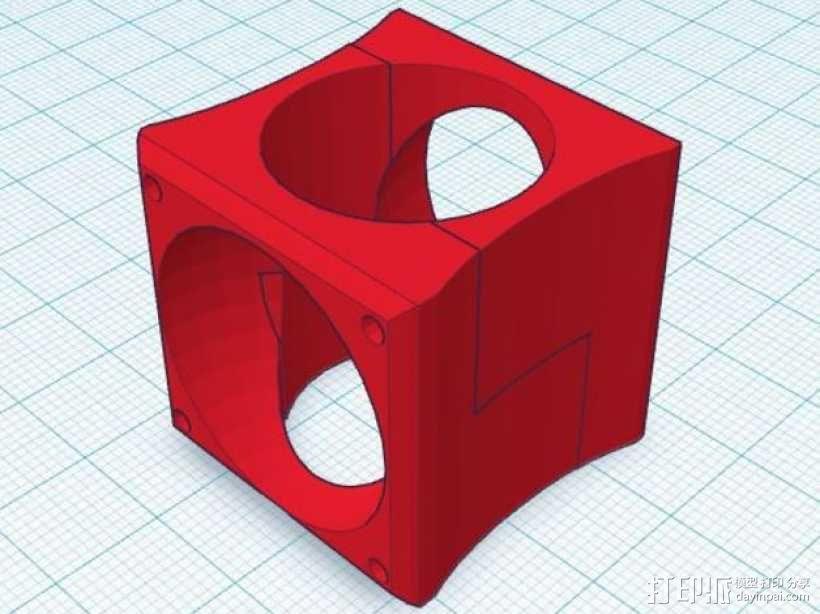 风管 E3D 3D模型  图1