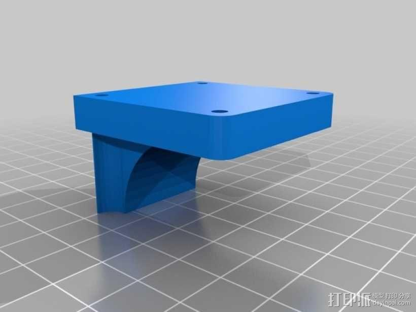 Y轴稳定挤出器 3D模型  图1