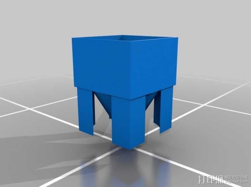 灯丝挤出器 3D模型  图2