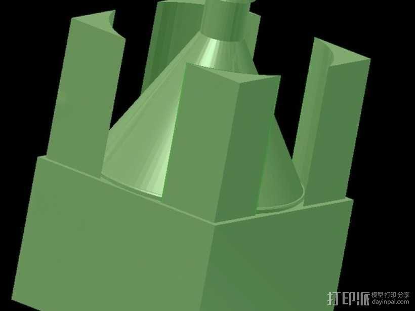 灯丝挤出器 3D模型  图4