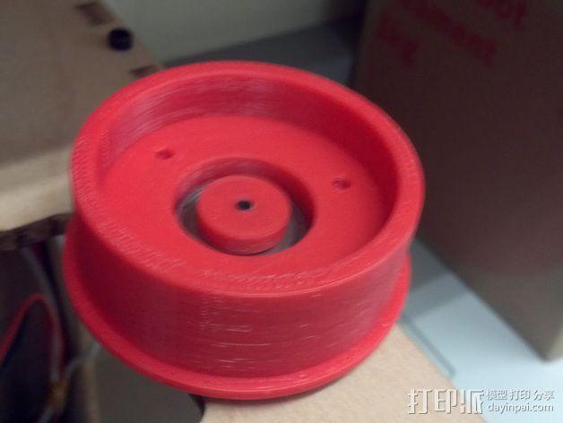 水平材料轴夹 3D模型  图12