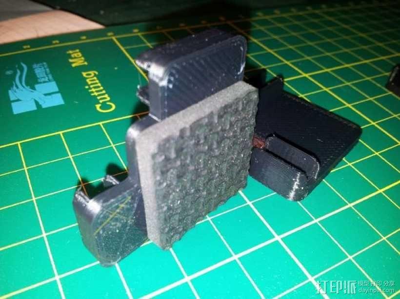 5mm厚板 3D模型  图2