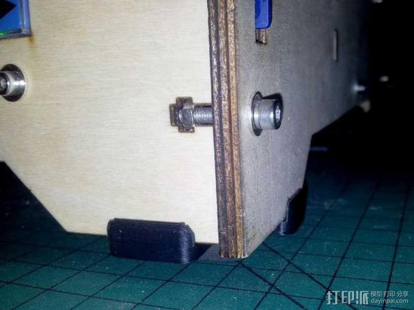 5mm厚板 3D模型  图1