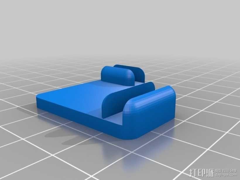 5mm厚板 3D模型  图5