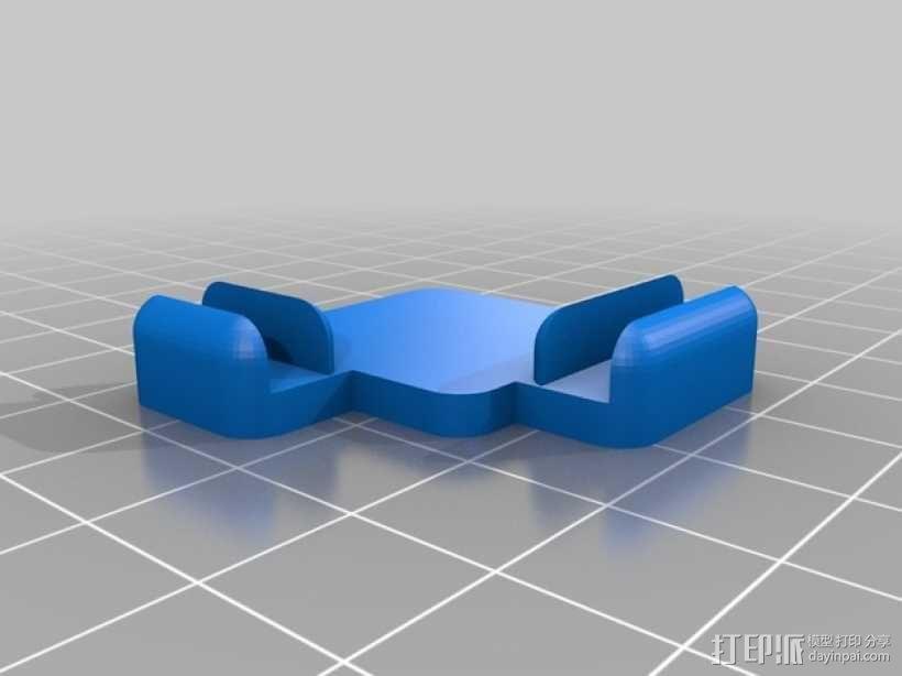 5mm厚板 3D模型  图4