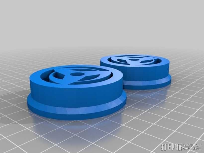 Prusa i3 线轴架 3D模型  图2
