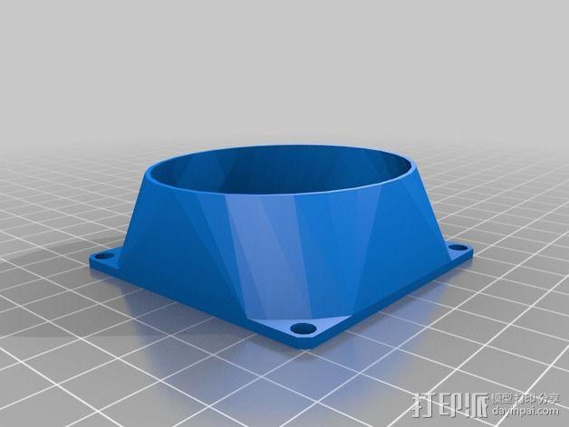 参数风机管 3D模型  图2