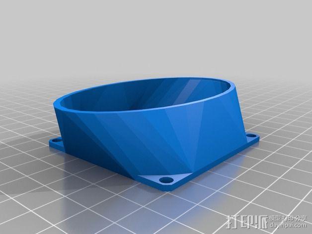 参数风机管 3D模型  图5