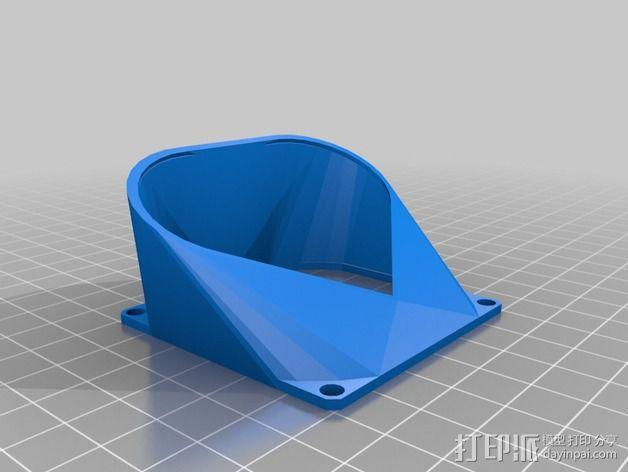 参数风机管 3D模型  图4