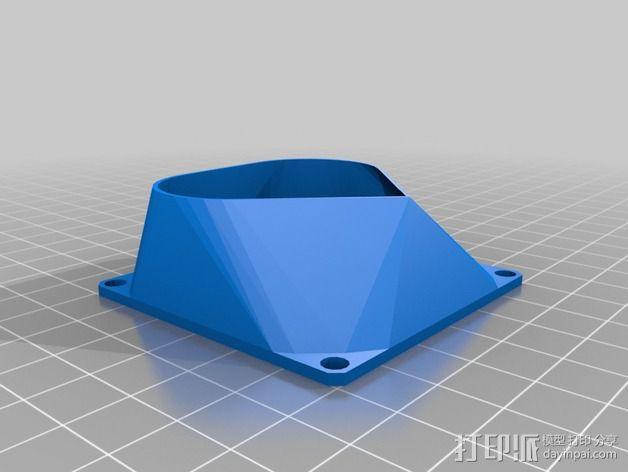 参数风机管 3D模型  图7