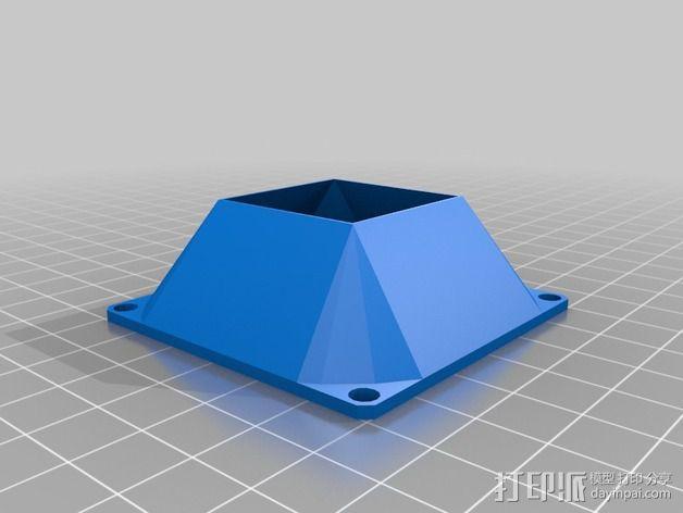 参数风机管 3D模型  图6